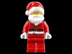 lego Happy Santa Key Chain