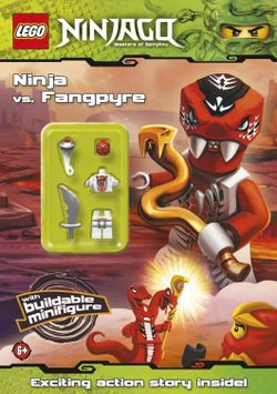 Ninja vs Fangpyre Activity Book - Brickipedia, the LEGO Wiki