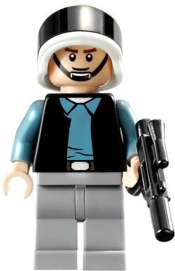 Lego Rebel Fleet Trooper Detailed Vest 75245 75244 75237 Star Wars Minifigure !!